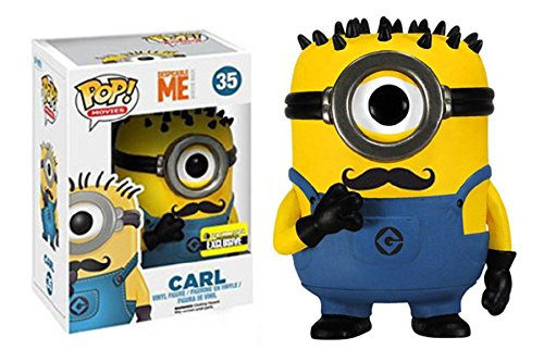 Funko POP Movies Despicable Me: Carl Vinyl Figure Mustache