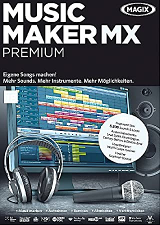 MAGIX Music Maker MX Premium (V.18)