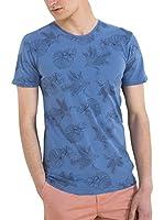 Cazador Camiseta Manga Corta (Azul)