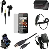 Accessory Bundle HTCINC (7in1) for HTC Droid Incredible Verizon Wireless - Custom Pack by MAGBAY