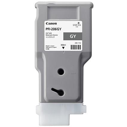 Canon Imageprograf IPF 6400 SE (PFI-206 GY / 5312 B 001) - original - Ink cartridge gray - 300ml