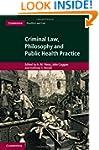 Criminal Law, Philosophy and Public H...