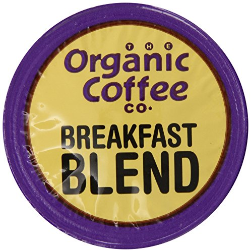 The Organic Coffee Co., Breakfast Blend, 36 Onecup Single Serve Cups