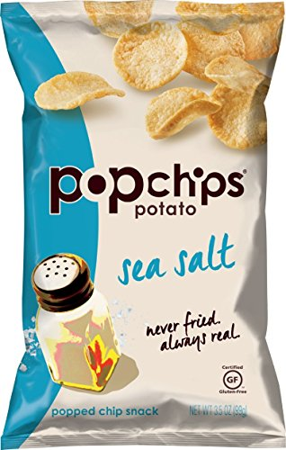 Popchips Potato Chips, Sea Salt, 3.5 Ounce (Sea Salt Popchips compare prices)