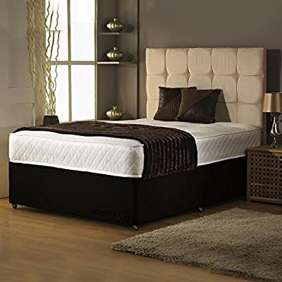 Hf4you Memory Foam Divan Bed Set - No Drawers - No Headboard