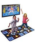WOLSEN Non-slip & Non-toxic Durable Dual Playing TV Dance Mat with high-elastic EVA foaming technics & 218 SONGS Showdown Plug N Play Mat for TV