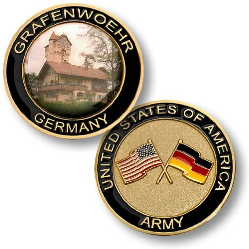 United States Army - Grafenwoehr, Germany Challenge Coin - 1