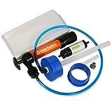 AquaPodKit Emergency Drinking Water Storage Plus Aquamira Filtration Kit, 65 gallon