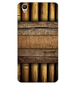 ColourCraft Bamboos Pattern Design Back Case Cover for OPPO R9