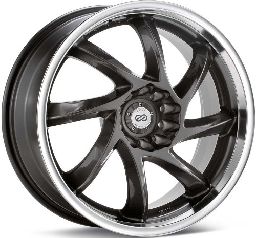 519a 3kBwLL 15x6.5 Enkei WDM (Gunmetal w/ Machined Lip) Wheels/Rims