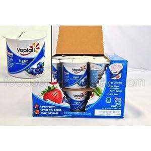 Amazon.com : Yoplait Light Variety Pack Yogurt, 6 Ounce ...