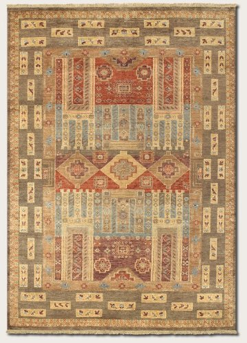 Couristan 1269/2469 LAHORE Persian Panel 30-Inch by 130-Inch Wool Area Rug, Multi