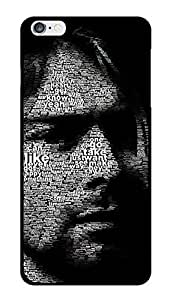 """Humor Gang Kurt Cobain Typography Art Printed Designer Mobile Back Cover For """"Apple Iphone 6 PLUS-6s PLUS"""" (3D, Glossy, Premium Quality Snap On Case)"""