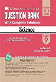 Oswaal CBSE CCE Question Bank with complete solutions For Class 9 Term II (October to March 2015) Science