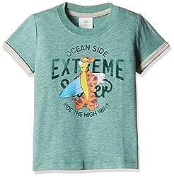 Fox Baby Boys' T-Shirt (Light Grey Melange_12-18 M_327575)