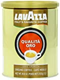 Lavazza Qualita Oro Ground Coffee, 8.8-Ounce Cans (Pack of 4)