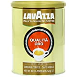 Lavazza Qualita Oro Ground Coffee, 8.8-Ounce Cans (Pack of 4) ~ Lavazza