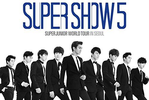 Super Junior - World Tour in Seoul 'Super Show 5' (2DVD + フォトブック) (韓国版)