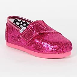 Toms Hot Pink Tiny Classics for Baby Girls 007013D13-HPINK (9 M Infant)