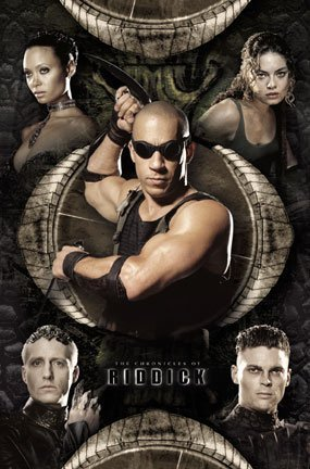 """The Chronicles of Riddick Movie Poster (Vin Diesel) 22x34"""" by Galaxyking.com [並行輸入品]"""