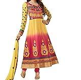 Starword Beautiful Heavy krishma 12 Semi stiched Dress Material High Qualitty
