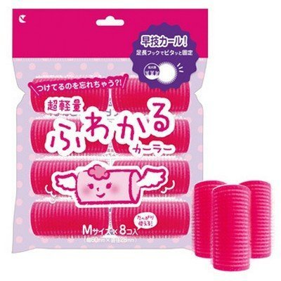 LUCKY TRENDY - Sponge Hair Curler (M) 8 pcs by Lucky Trendy