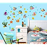 Wall Murals And Decors Fish Wall Stickers
