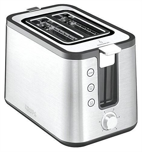 KH442 Premium Toaster Control Line mit 6 Bräunungsstufen (720 Watt) edelstahl / schwarz