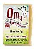 O My!Tm Mission Fig Goat Milk Soap All Natural, Palm Oil Free, Handmade Soap Made In Usa