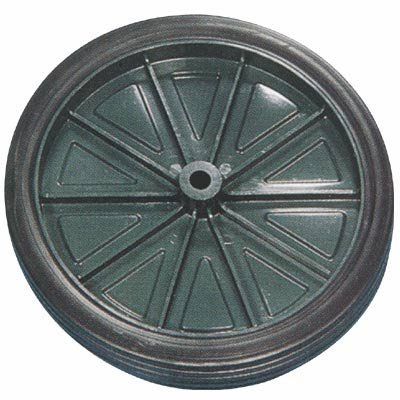 Injection Molded Wheel and Hub - 1-Pc., 10in.