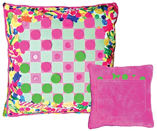 iscream / Gummy Bears Checkers Game Pillow