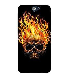 Fuson 3D Designer Back Case Cover For HTC One A9