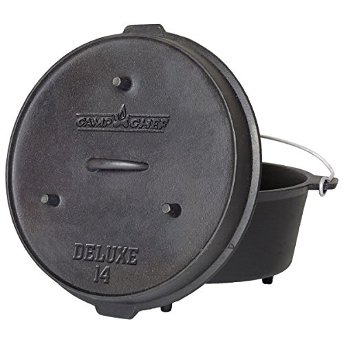 Camp Chef DO-14 Pre-Seasoned Deluxe 12-Quart 14