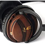 Meze 66 Classics Audiophile Ebony Wood Headphones - Satin Finish
