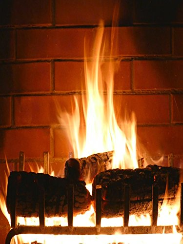 Burning Fireplace video ★ Romantic ★ 3 hours crackling logs ★ Valentine's Day ★ Love