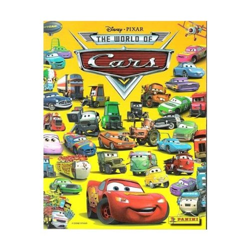 Disney Pixar World of Cars Collectible Sticker Album - 1