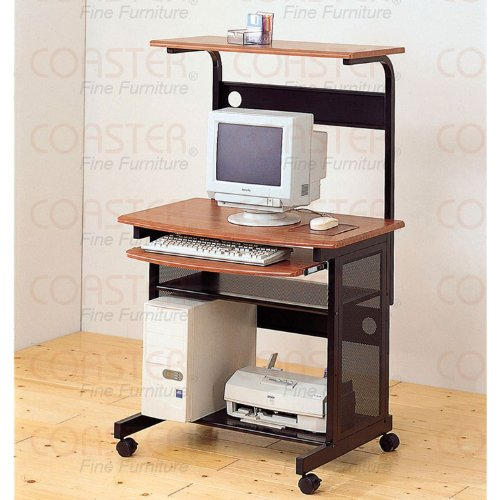 Buy Low Price Comfortable Computer Desk In Maple Finish (B003XRBTH0)
