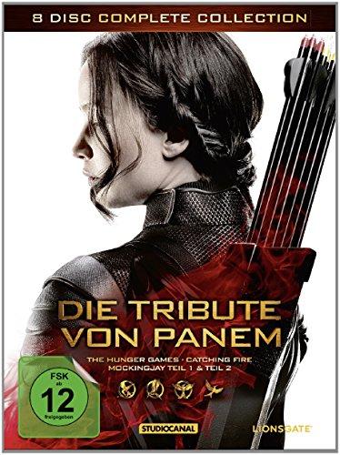 Die Tribute von Panem - Complete Collection [8 DVDs]