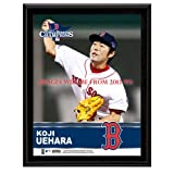 Koji Uehara Boston Red Sox 2013 MLB World Series Champions 10'' x 13'' Sublimated Player Plaque