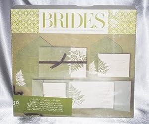 brides magazine wedding invitation kit amazoncouk With brides wedding invitation kits uk