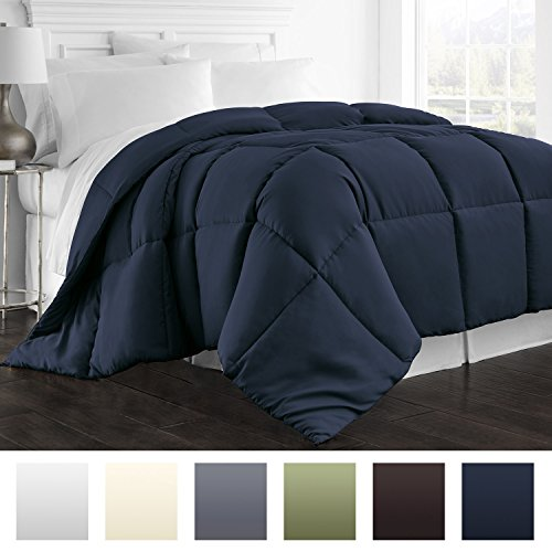 Find Discount Beckham Hotel Collection Lightweight Luxury Goose Down Alternative Comforter - Hypoall...