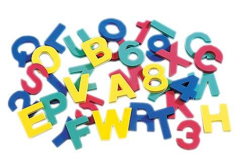 Imagen principal de Gütermann/KnorrPrandell 1510500 - Sello para letras y números, 36 piezas