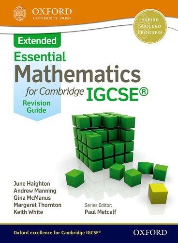 Essential extended mathematics. Nelson Thornes: revision guide. Con espansione online. Per le Scuole superiori
