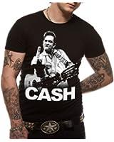 Soulfood Herren T-Shirt JOHNNY CASH - FLIPPIN