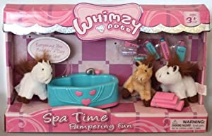 Whimzy Pets Spa Time Pampering Fun with Horses