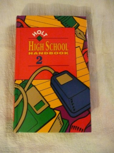 Holt High School Handbook 2