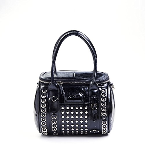 LA CARRIE BAG BAULETTO BIG ECOPELLE UNICA, NERO MainApps