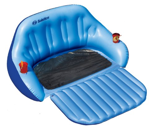 Swimline convertible duo love seat home garden pool spa for Garden pool accessories