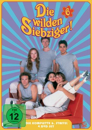 Die wilden Siebziger - Die komplette 6. Staffel (4 DVDs - Digipack)