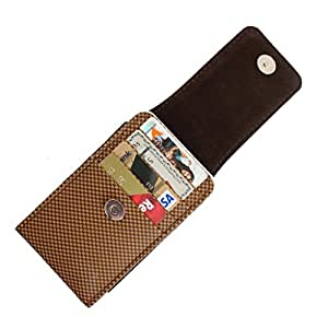 DooDa PU Leather Pouch Case Cover With Magnetic Closure For Idea Aurus 4
